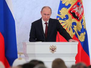 President Putin addresses the future