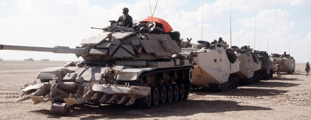 Saudi tanks