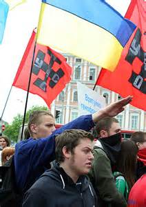 US State Dept. and John McCain of course, recruiting Ukranian Nazis for new terror destabilization programs