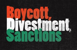 BDS has to be expanded way past the settlements focus to work...like WMD