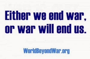 either we end war or it will end us