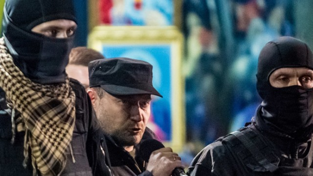 Dimitri Yarosh (c) - Right Sector leader