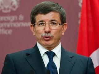 Turkish FM Ahmet Davutoglu