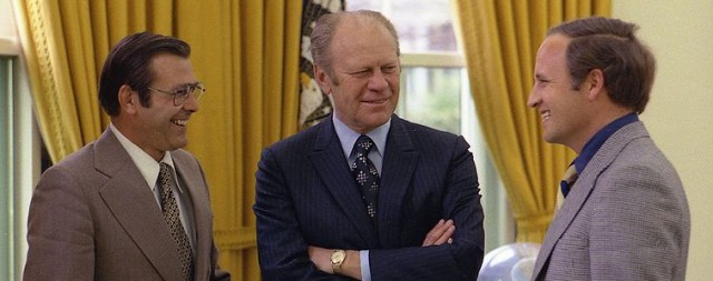 Don Rumsfeld - Ford - and Dick Cheney