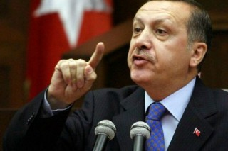 Erdogan points the finger at everyone but himself