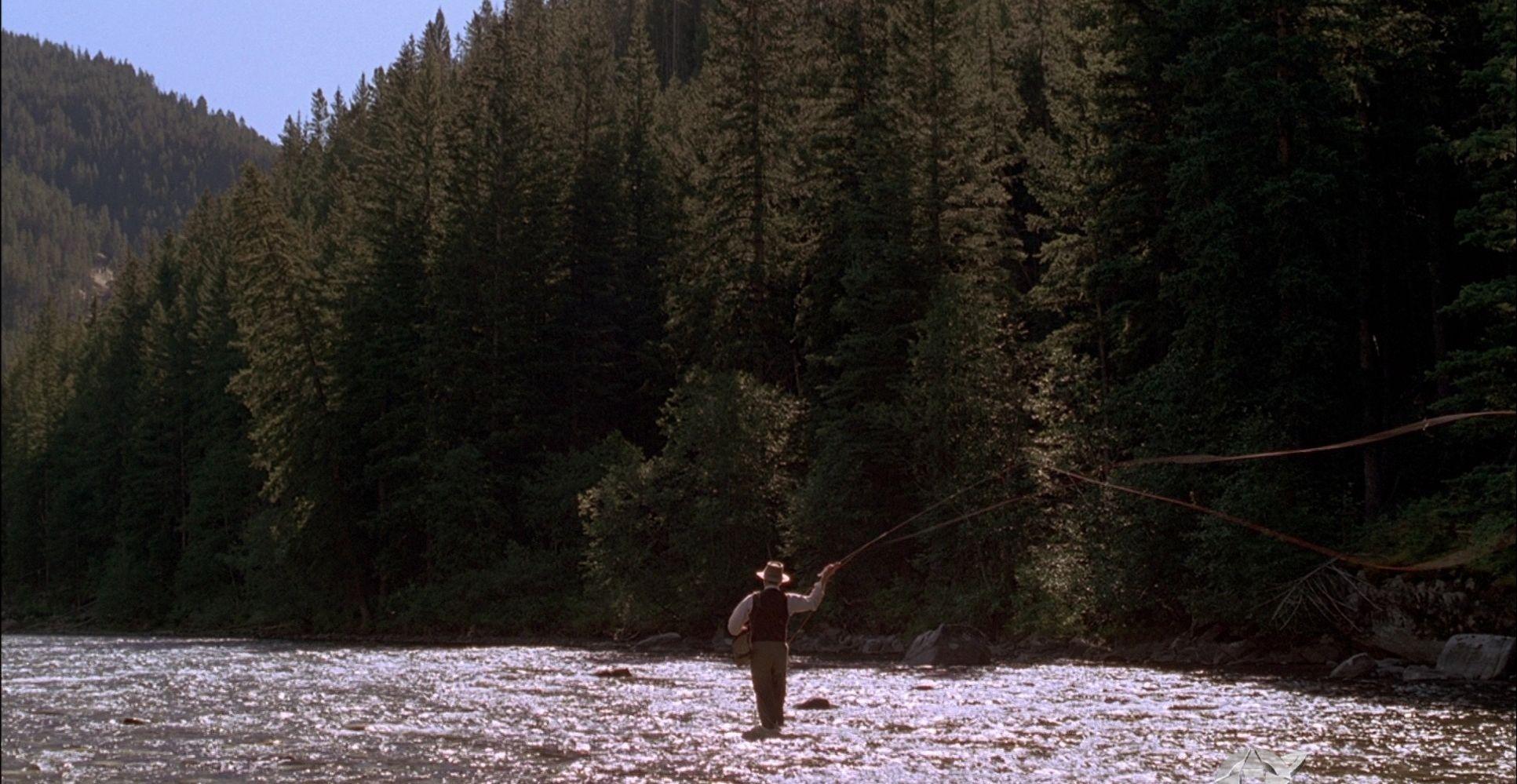 A River Runs Through It Norman Maclean Brad Pitt Robert Redford