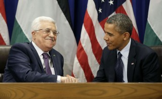 UN meeting between Obama and Abbas