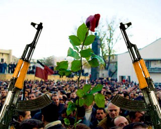 Rose Revolution ousting Shevardnadze's policies
