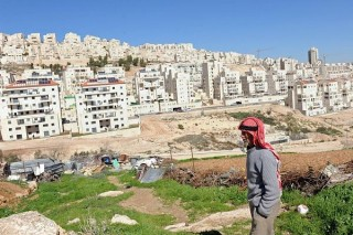View of West Bank settlement