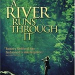 A River Runs Through It Movie poster Brad Pitt Robert Redford