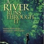 A River Runs Through It Movie poster Brad Pitt Robert Redford