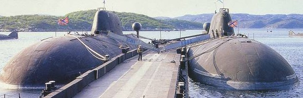 Russian subs at Sevastapole