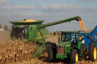 Ukraine corn harvest is way off this year