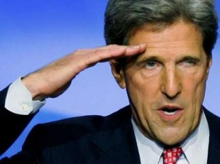John Kerry - American aggression tip of the spear