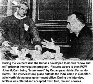 'Song bird' McCain - working for Soviet Intel in Hanoi