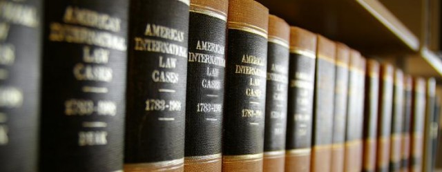 row-of-law-books