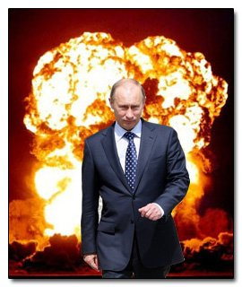 Mass media trying to frame Putin as a threat