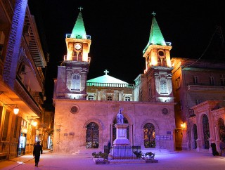 Saint Elias Maronite church in Aleppo, Syria