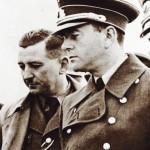 Dorsch, left of Speer