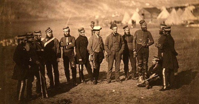 On of Fenton's famous Crimean War photos...the first time the public ever had seen any