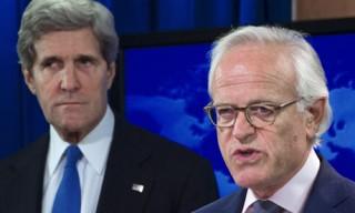 John Kerry and Martin Indyk