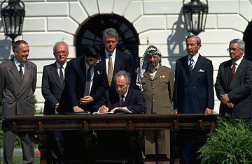 Oslo Accord Signing Ceremony, 1993 - How was it implemented?