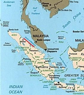 Strait of Malacca, key shipping lane