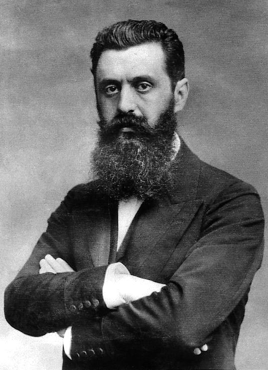Teodore Herzl has a lot of ideological blood on his hands