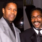 Denzel Washington with Rubin Carter