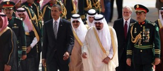 Obama meets with King Abdullah