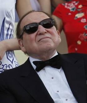 Multi-billionaire Sheldon Adelson