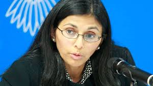 Assistant Secretary of State for South and Central Asian Affairs Desai Biswal