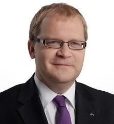 Estonian Foreign Minister Urmas Paet
