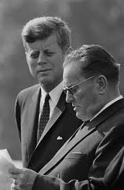 President Kennedy with President Tito