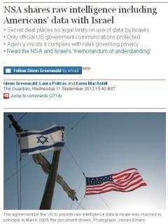 NSA ISRAEL