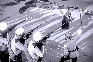 Still from Eisenstein's film Battleship Potemkin (1925)