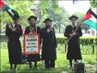 """Neturei Karta - """"Authentic Rabbis have always opposed Zionism"""""""