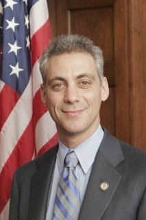 Wrong flag, Rahm? Oh, you already know that - now I see why you're smirking.