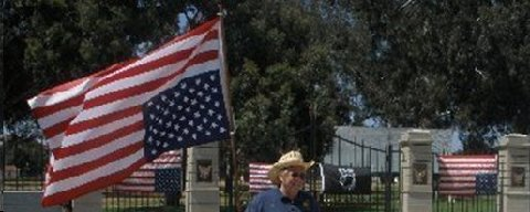 American Legionnaire Rees Lloyd, a former staff attorney for the ACLU with legal Distress Call that life and property at the Los Angeles VA are in extreme danger.