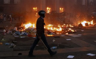 Nearly 40 people died in the Odessa fire -- where Kiev's Right Sektor junta attacked Ukrainian citizens