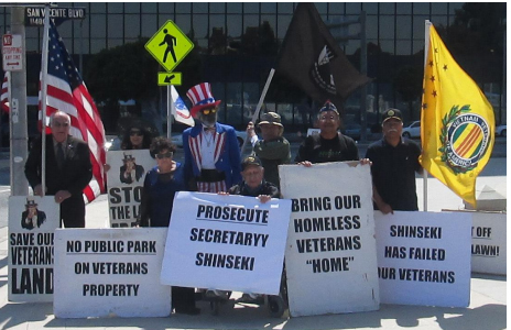 Old Veterans Guard celebrates 323rd consecutive Sunday Rally of the Veterans Revolution.