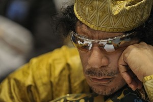 Gaddafi bet the farm that his NeoCon buddies would save him... and lost
