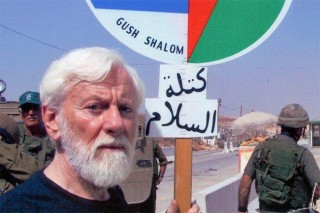 Uri was still protesting with Gush Shalom in his 80's.