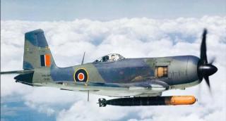 Blackburn Firebrand torpedo fighter