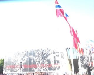 Ceremony at Caen
