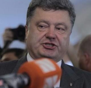 President Petro Porosheko of Ukraine