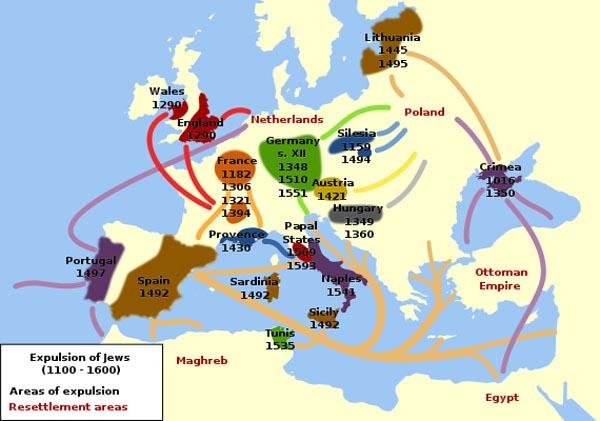 Timeline of Jewish expulsions