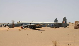 UN Nuclear Recovery Teams at Bush/Bout Sahara Crash Site