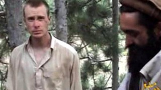 Sgt. Bowe Bergdahl in a still from a recent video released by the Taliban.