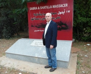 Standing on the grave of 1100 Sabra and Shatilla victims gave me the chills